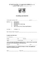 Anmeldeformular MFB