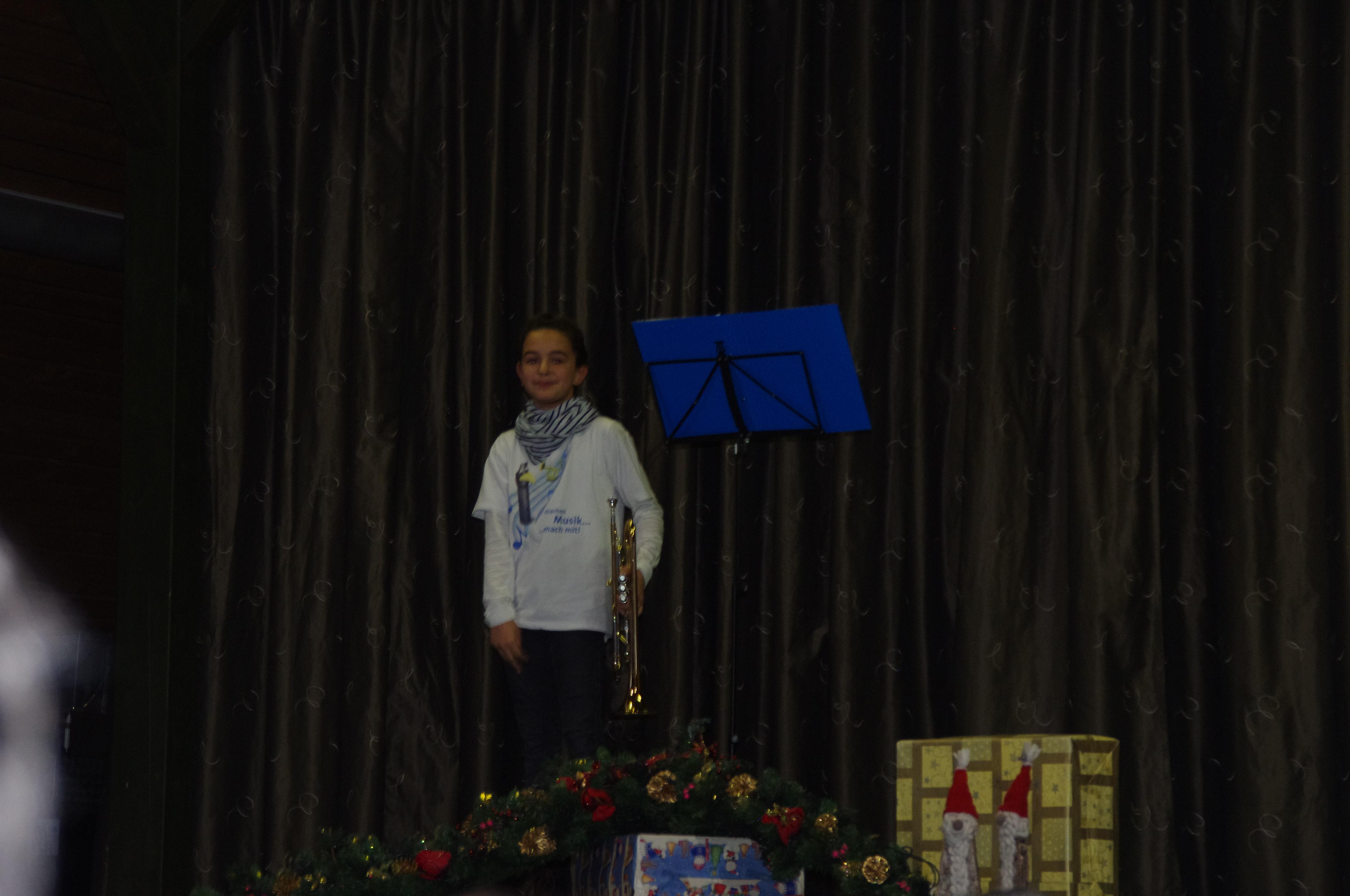 Adventsfeier mit viel Musik