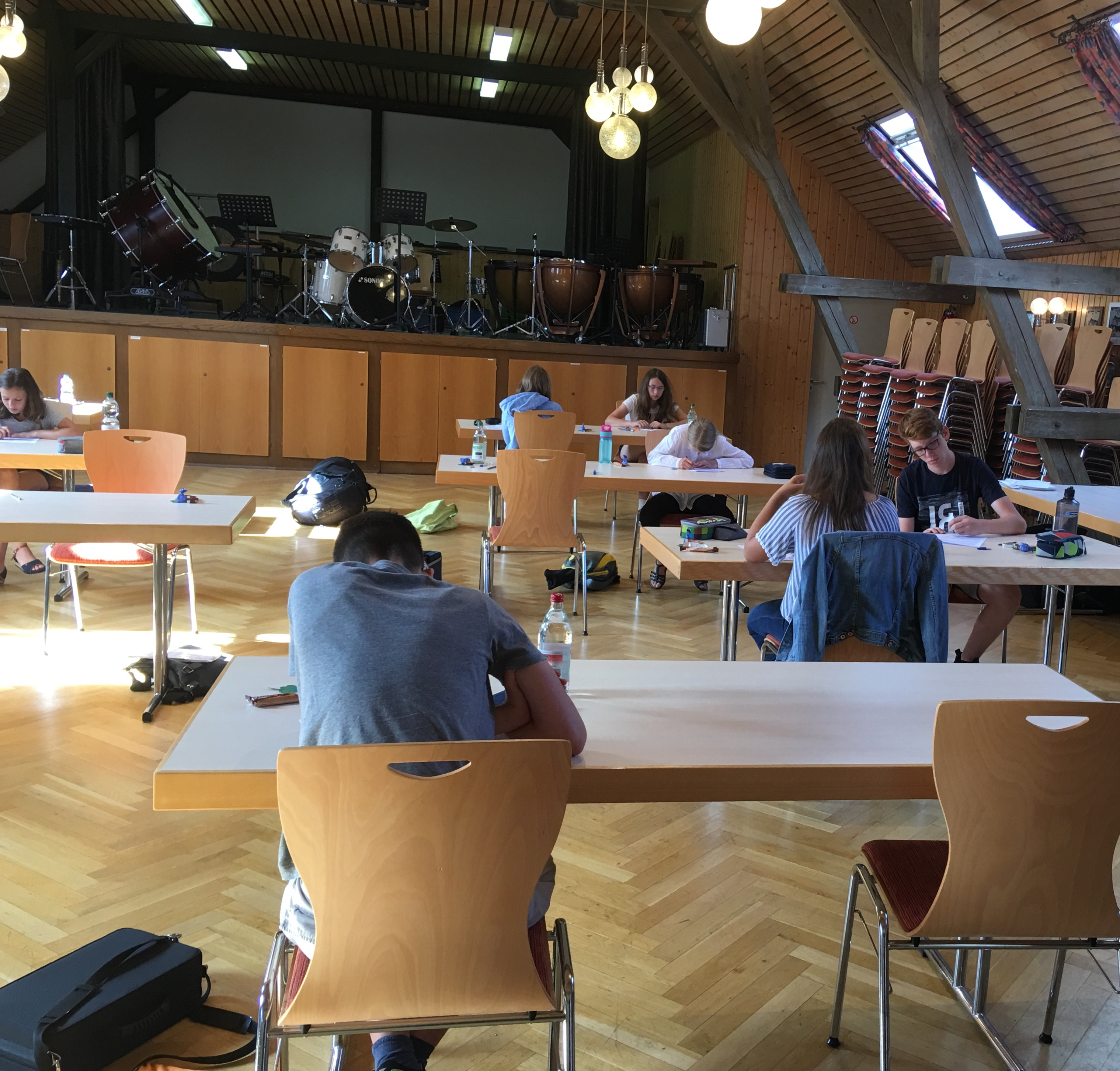 D1-Prüfung im Musikerheim