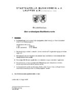 Richtlinie Instrumente