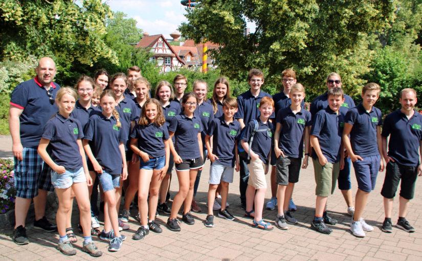Ausflug Jugendorchester nach Tripsdrill