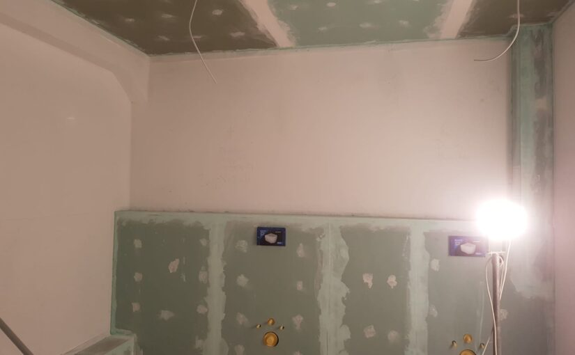Ausbau Toilettenanlage